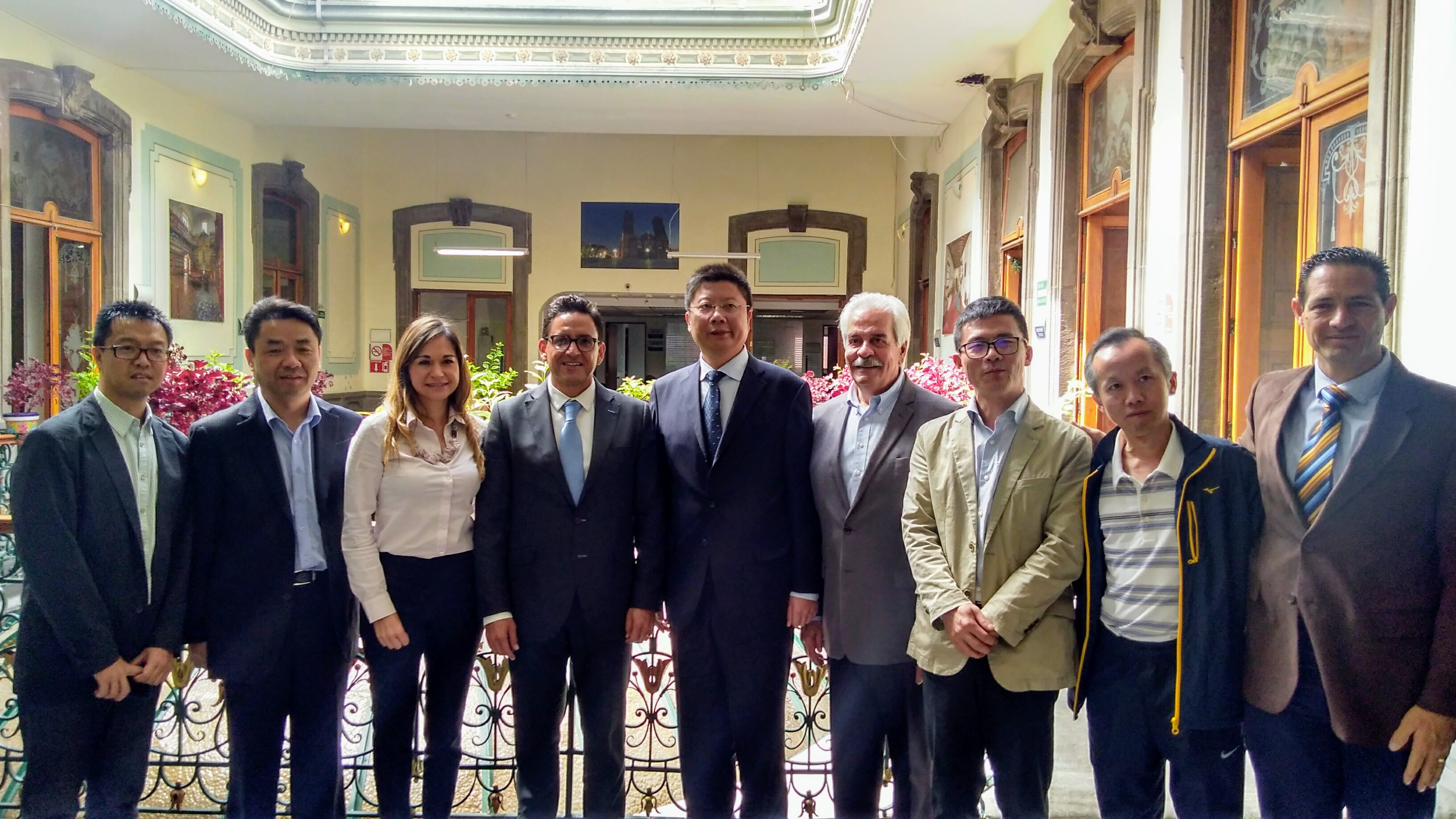 Expone Banck ante comitiva china las ventajas de invertir en Puebla