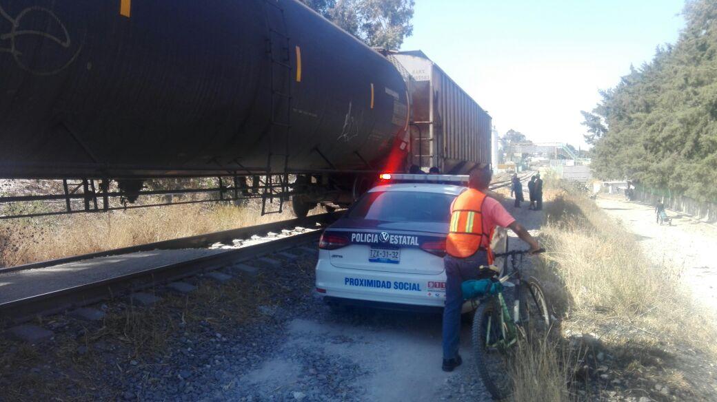 Intentaban robar vagones de Ferrosur, en San Pablo Xochimehuacan