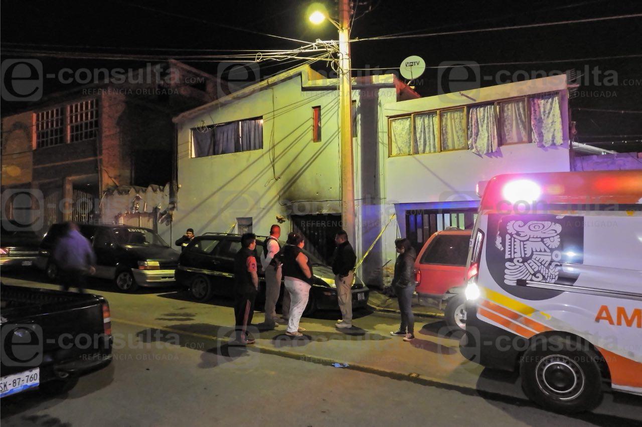 Arde casa con familia adentro en San Pedro Cholula