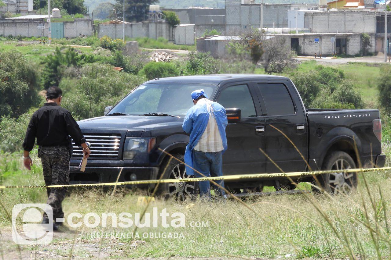 Encuentran cadáver baleado atrás del autódromo de Amozoc
