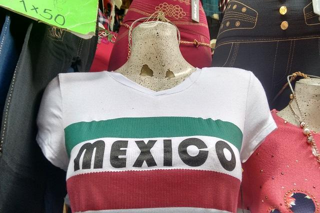 Aprovecha la industria textil poblana el Mundial de Fútbol