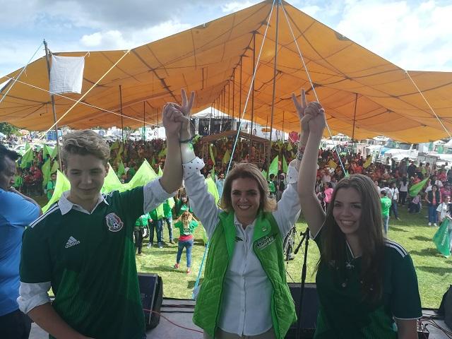 Este 1 de julio la esperanza es Verde: Paola Migoya