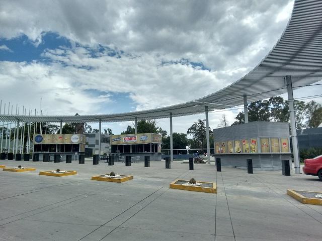 Renta de locales en parques públicos fracasó en zona de Los Fuertes