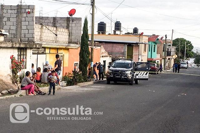 Balacera provoca movilización policiaca en Lomas de San Miguel