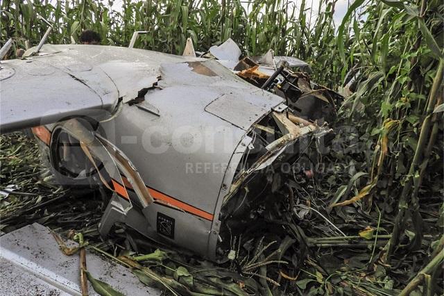 Se desploma avioneta en las faldas del Pico de Orizaba; hay 3 muertos