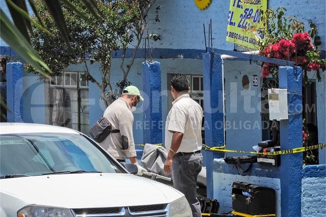 Allanan casa donde se perpetró un feminicidio en Puebla