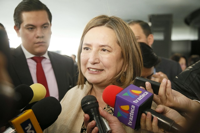 Será Moreno Valle coordinador de AN por imposición: Xóchitl Gálvez