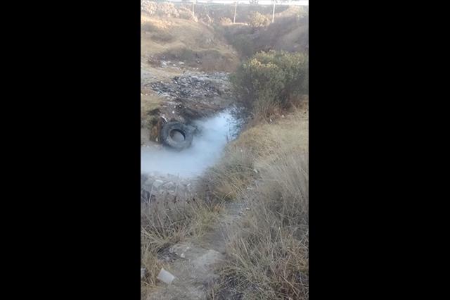 Controlan fuga de gas en Amozoc informa Protección Civil estatal