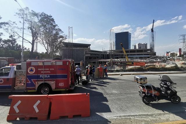 Muere trabajador al caer en obras de Estrella Roja en Las Torres