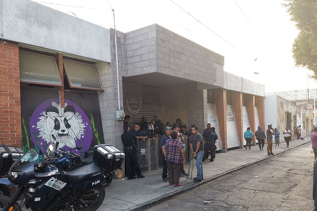 Blindan Juzgado de la 9 tras detención de ambulantes en el Centro