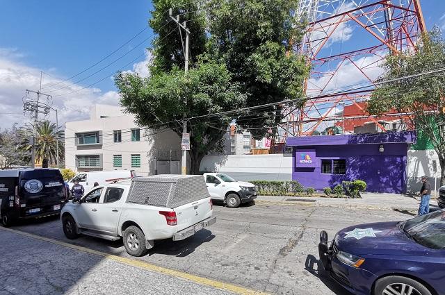 Muere trabajador al caer de la antena de TV Azteca en La Paz