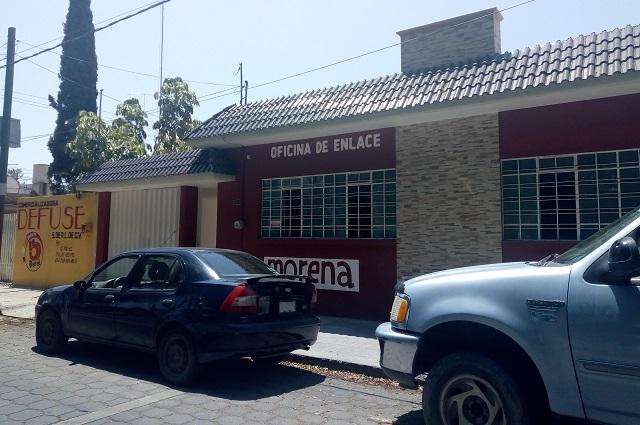 Asaltan casa de campaña de Barbosa en Tehuacán