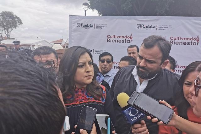 Becas para usuarios del transporte público en Puebla, anuncia Rivera