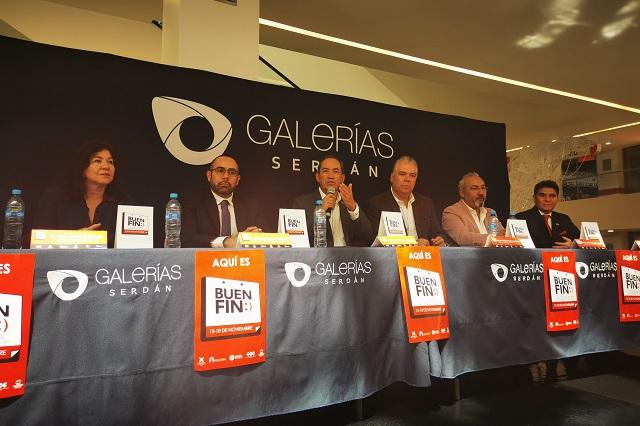 Esperan ventas de 6 mil mdp para el Buen Fin en Puebla