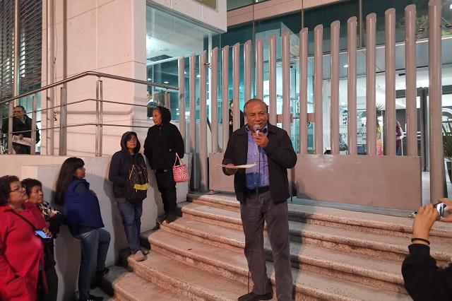 Líder del Suntuap declarará por escrito en demanda por fraude