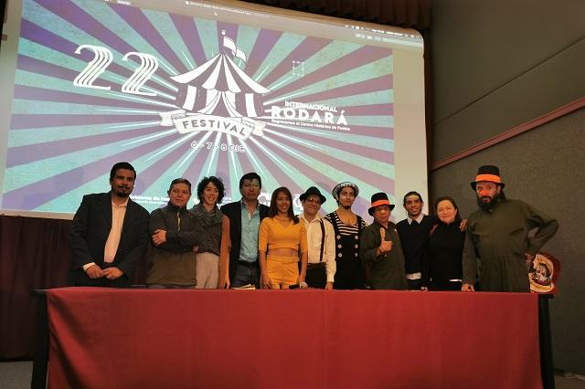 Llega el festival circense Rodará a Puebla el fin de semana
