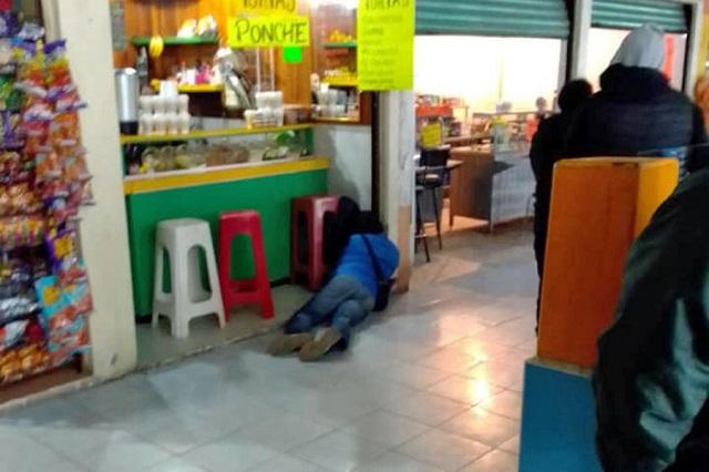 Ejecutan a hombre en central de autobuses de Zacatlán
