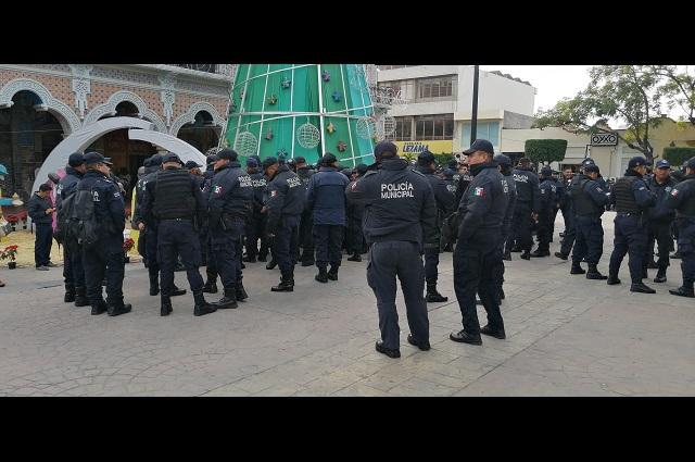 Policías de Tehuacán piden destituir al director de Seguridad