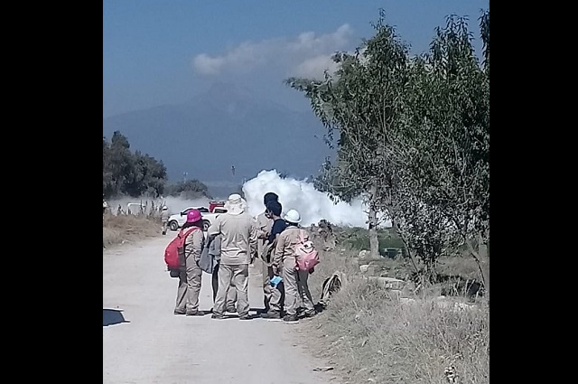 Cierra el 2019 con fugas de gas en Tepeaca y Tlahuapan