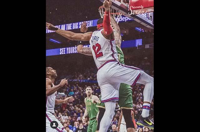 Sixers de Filadelfia vencen a Celtics de Boston 109 a 98