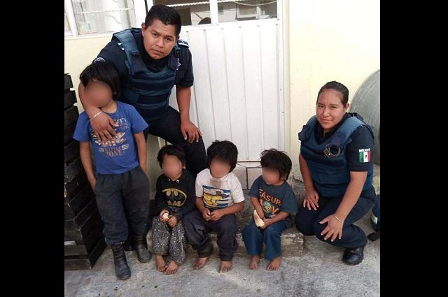 Hermanitos se salvan de incendio en la Gonzalo Bautista