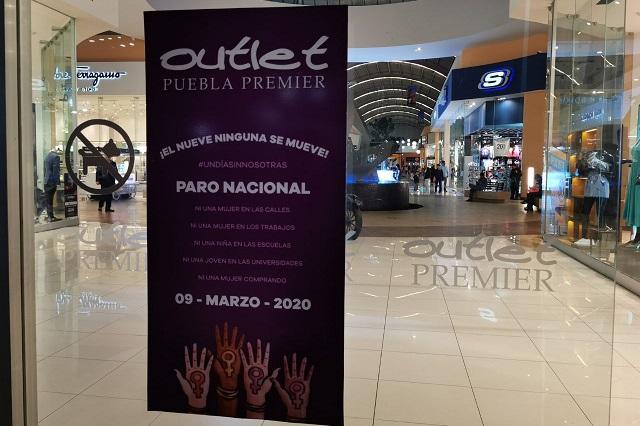 Cerrarían 3 de cada 10 plazas en Puebla por paro del 9M