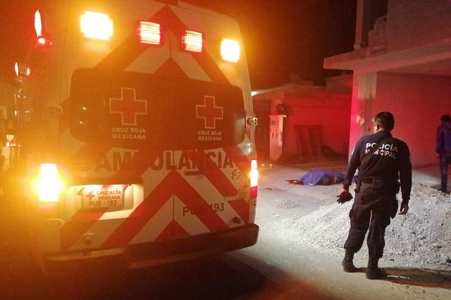 A golpes y machetazos matan a un hombre en Huejotzingo