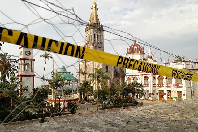 Cierran Cuetzalan a visitantes para evitar que llegue Covid-19