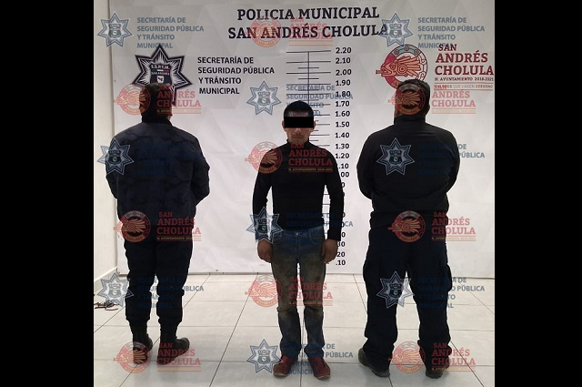 Lo detienen por el feminicidio de su pareja en San Andrés Cholula