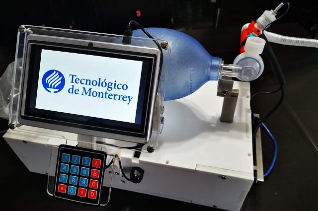 Trabaja Tec de Monterrey en ventiladores para hospitales del sur