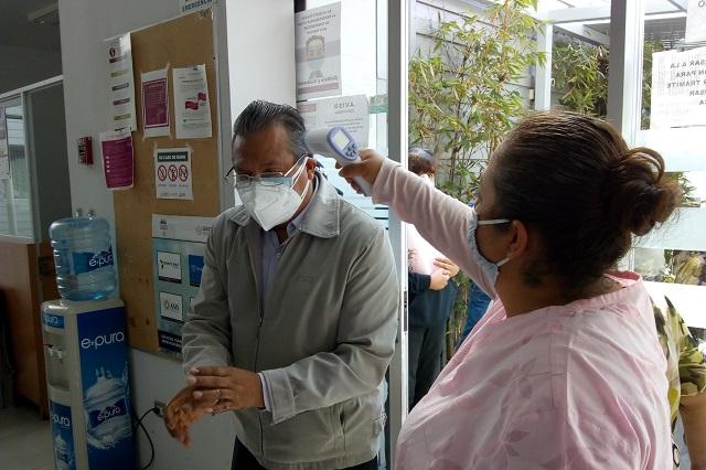 Niegan brote de Covid-19 en oficinas del ISSSTE Puebla
