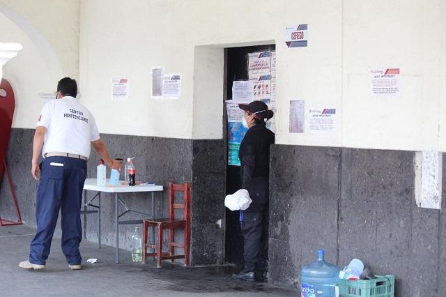 Interna acusa de violación a custodio en penal de Huejotzingo