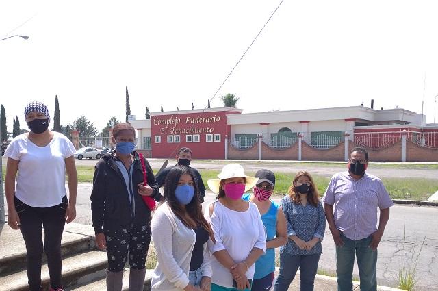 Protestan otra vez contra crematorio en Cuautlancingo