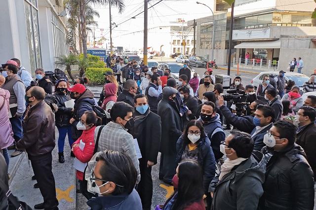 Exceso de demandas rebasa a la Junta de Conciliación en Puebla