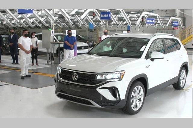 Invierte VW 400 mdd para producir la Taos en Puebla