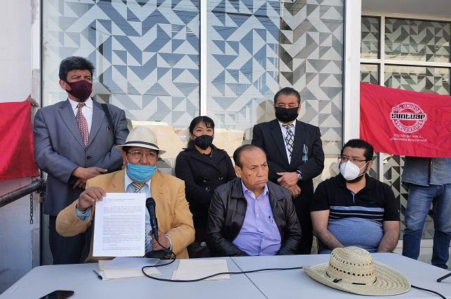 Abogados y Suntuap exigen salida de Daza Buendía de la JLCA