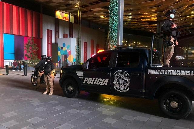 Deja saldo blanco en San Pedro Cholula operativo de Buen Fin