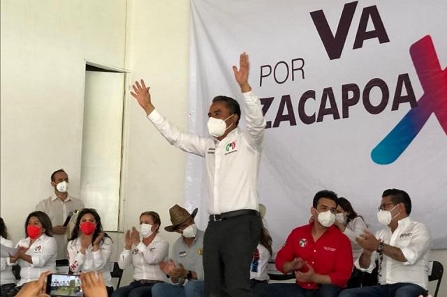 Evelio Navarro Lara será candidato del PRI-PAN-PRD en Zacapoaxtla