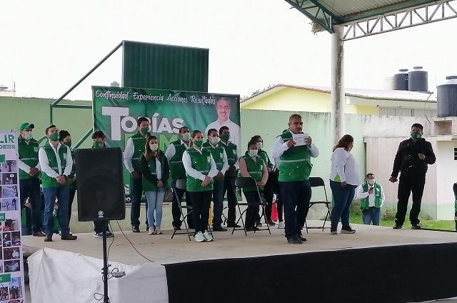Tobías Ramiro cierra campaña en Zaragoza