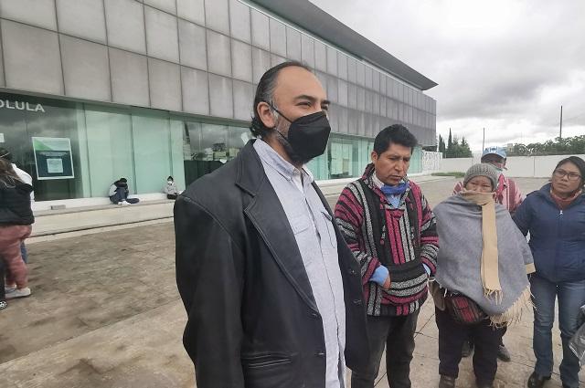 Agente del MP falta a audiencia con el activista López Vega