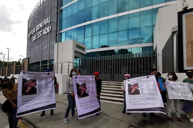 Protestarán hasta que Claudia Andrea Ramos aparezca