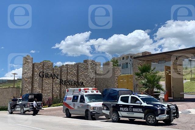 En Lomas de Angelópolis se cae segundo piso; 3 heridos
