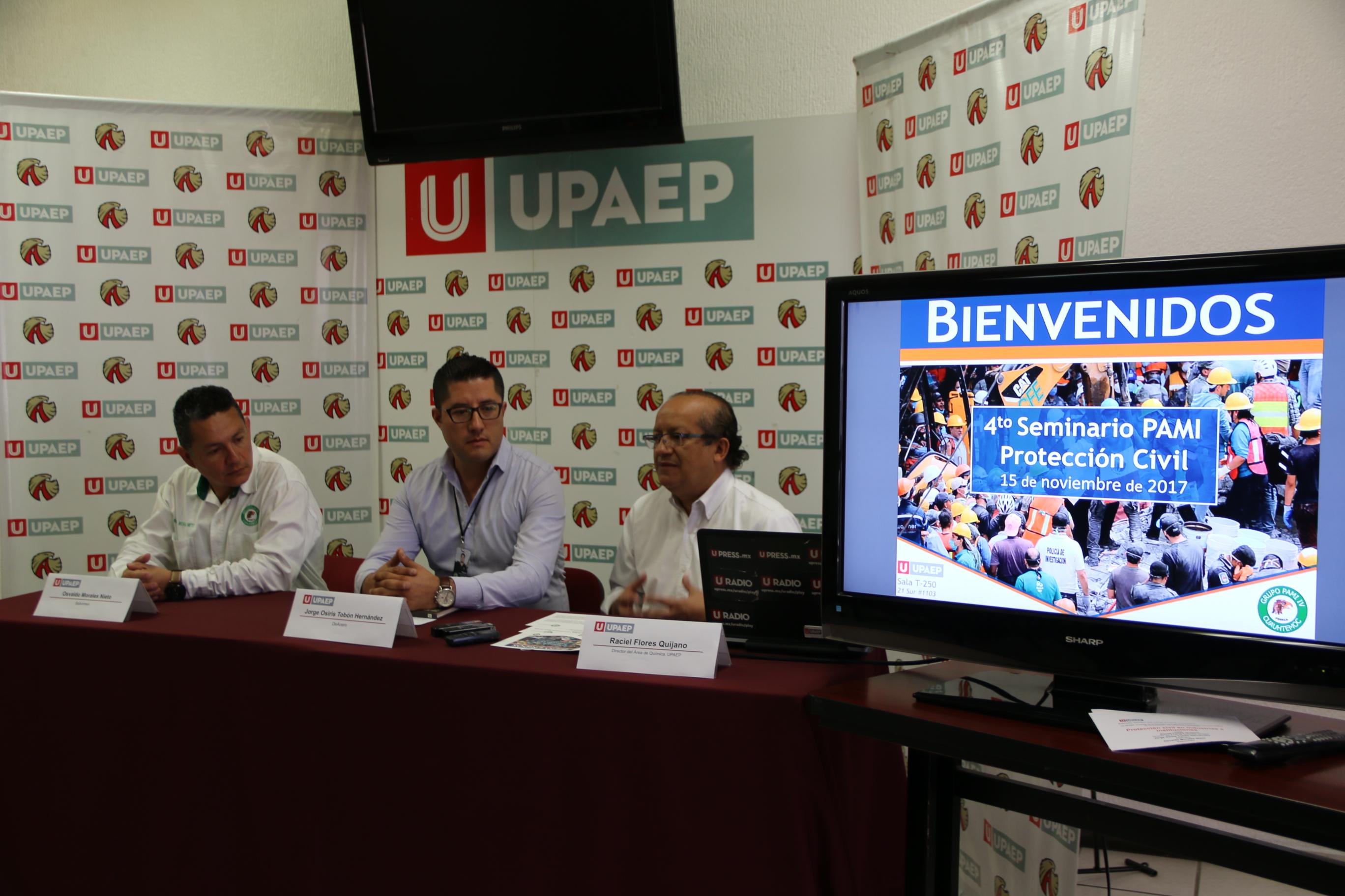 UPAEP fue sede del Seminario de Capacitación del Grupo PAMI