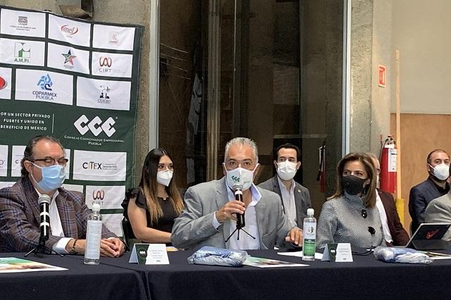 Con donativo del CCE repartirán en Puebla 1 millón de cubrebocas