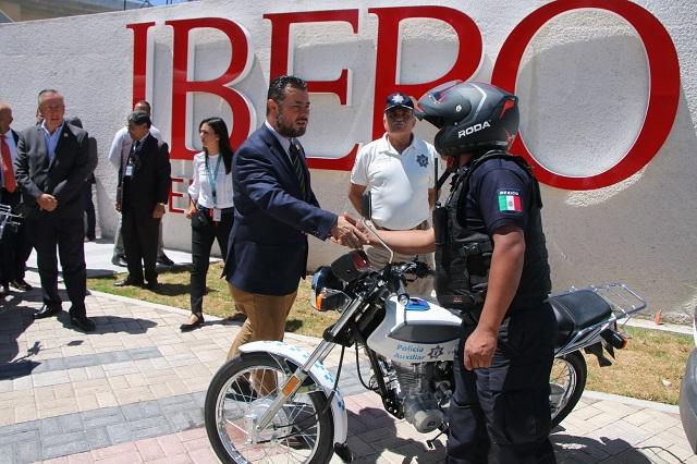 Patrullan la Ibero como parte del programa Sendero Seguro
