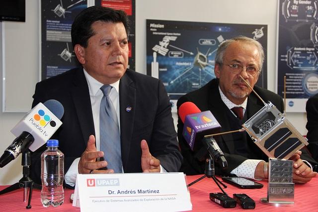 Nanosatélite AzTechSat-1 UPAEP aprueba revisión de la NASA