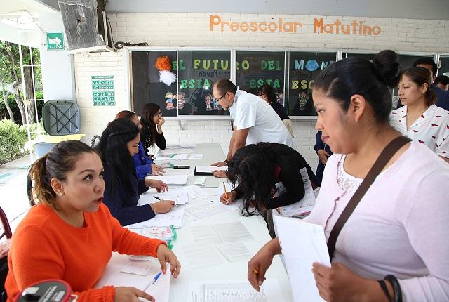 Preinscripciones en Puebla, desde el martes 4: Educación