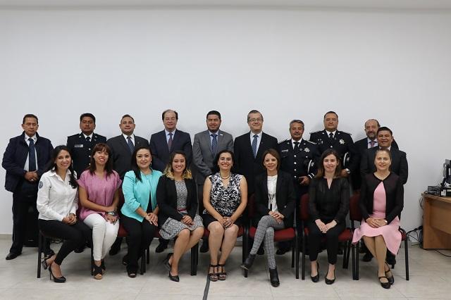 UPAEP diagnostica estado de salud de policías municipales de Puebla