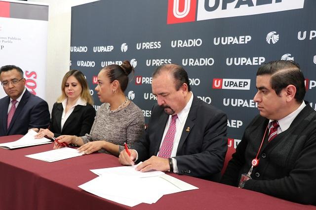 UPAEP y el Colegio de Contadores firman convenio de colaboración académica