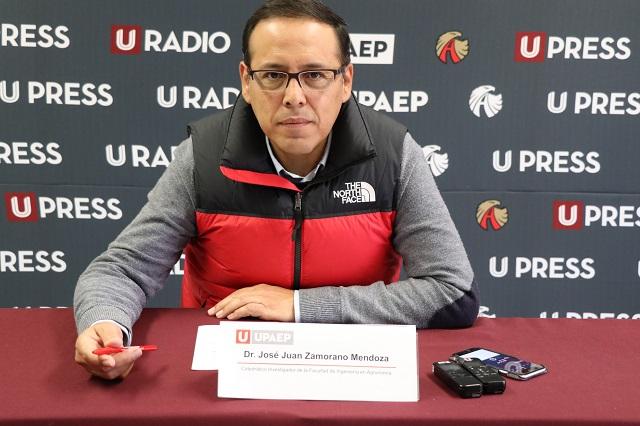 Clima gélido y con ventisca, pronostica Upaep para Puebla